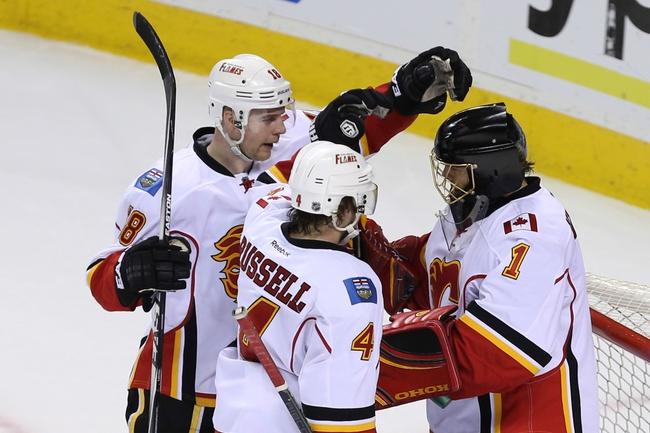 San Jose Sharks vs. Calgary Flames - 11/28/15 NHL Pick, Odds, and Prediction