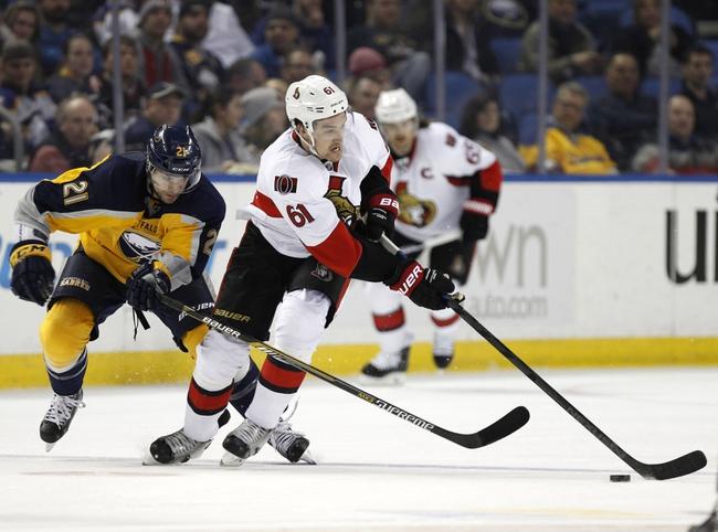 Senators vs. Sabres - 3/6/15 NHL Pick, Odds, and Prediction