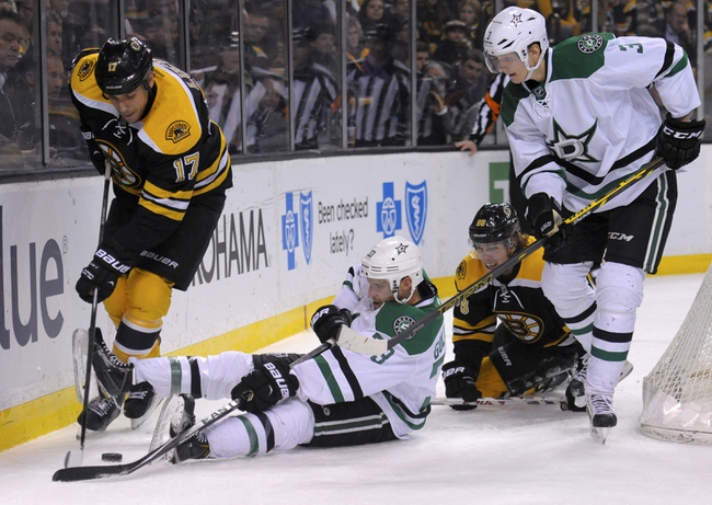 Boston Bruins vs. Dallas Stars - 11/3/15 NHL Pick, Odds, and Prediction