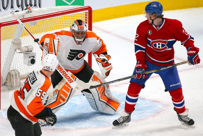 Flyers vs. Canadiens - 1/5/16 NHL Pick, Odds, and Prediction