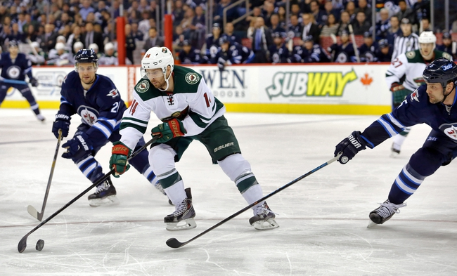 Wild vs. Jets - 4/6/15 NHL Pick, Odds, and Prediction