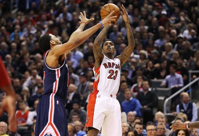 Wizards at Raptors - 4/18/15 NBA Pick, Odds, and Prediction