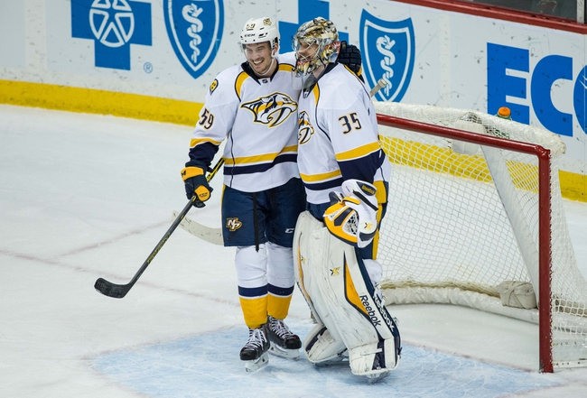 Nashville Predators vs. Minnesota Wild - 2/26/15 NHL Pick, Odds, and Prediction