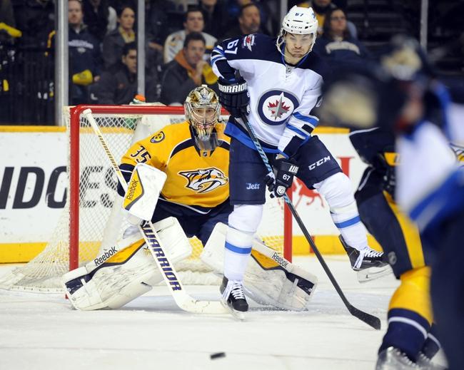 Nashville Predators vs. Winnipeg Jets - 3/7/15 NHL Pick, Odds, and Prediction