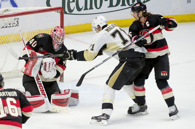 Senators vs. Penguins - 4/7/15 NHL Pick, Odds, and Prediction
