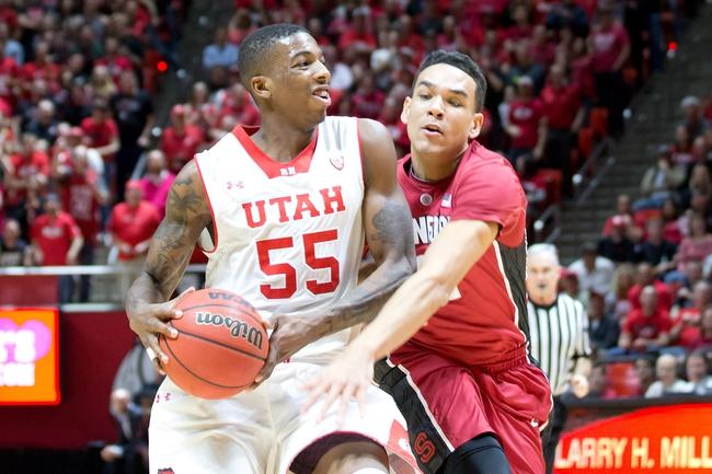 Utah Utes vs. California Golden Bears - 2/15/15 College Basketball Pick, Odds, and Prediction