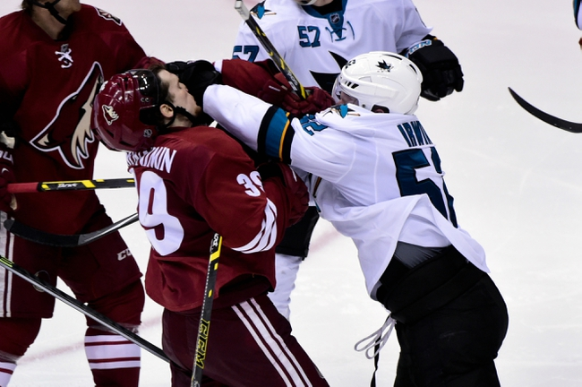 Sharks vs. Coyotes - 4/3/15 NHL Pick, Odds, and Prediction