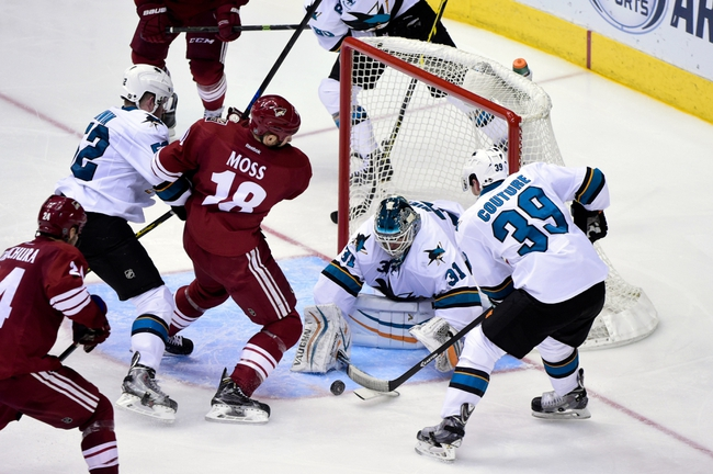 Arizona Coyotes vs. San Jose Sharks - 4/4/15 NHL Pick, Odds, and Prediction