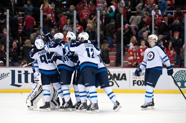 Winnipeg Jets vs. Detroit Red Wings - 12/29/15 NHL Pick, Odds, and Prediction