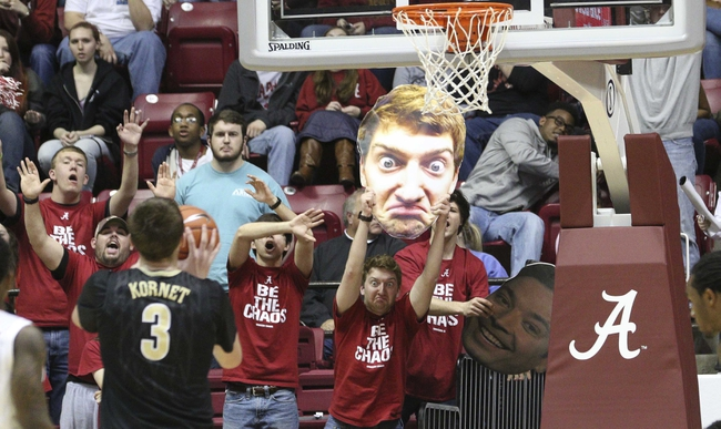 Vanderbilt vs. Alabama - 2/28/15 College Basketball Pick, Odds, and Prediction