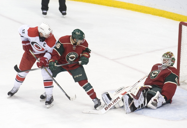 Carolina Hurricanes vs. Minnesota Wild - 3/6/15 NHL Pick, Odds, and Prediction