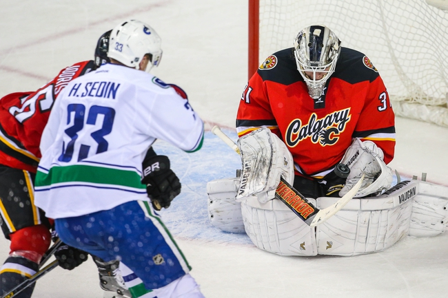 Calgary Flames at Vancouver Canucks- 4/15/15 NHL Pick, Odds, and Prediction