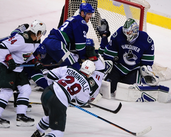 Minnesota Wild vs. Vancouver Canucks - 11/25/15 NHL Pick, Odds, and Prediction