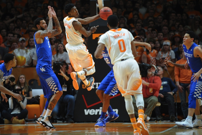 Tennessee vs. South Carolina - 3/7/15 College Basketball Pick, Odds, and Prediction