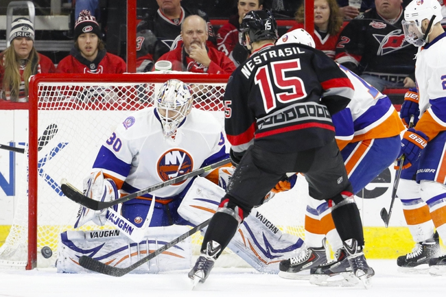 New York Islanders vs. Carolina Hurricanes - 10/29/15 NHL Pick, Odds, and Prediction