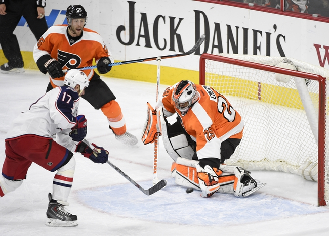 Philadelphia Flyers vs. Columbus Blue Jackets - 12/5/15 NHL Pick, Odds, and Prediction