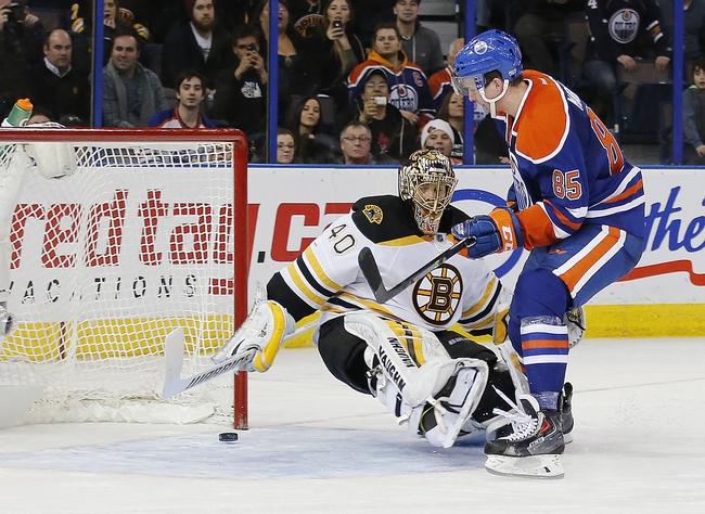 Edmonton Oilers vs. Boston Bruins - 12/2/15 NHL Pick, Odds, and Prediction