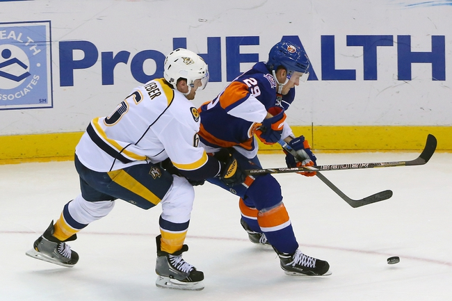 Nashville Predators vs. New York Islanders - 3/5/15 NHL Pick, Odds, and Prediction