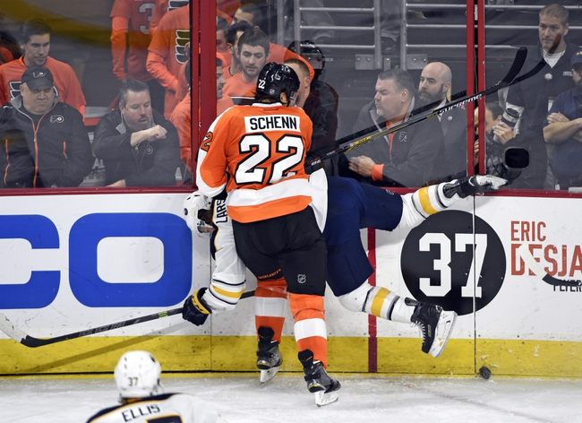 Philadelphia Flyers vs. Buffalo Sabres - 10/27/15 NHL Pick, Odds, and Prediction