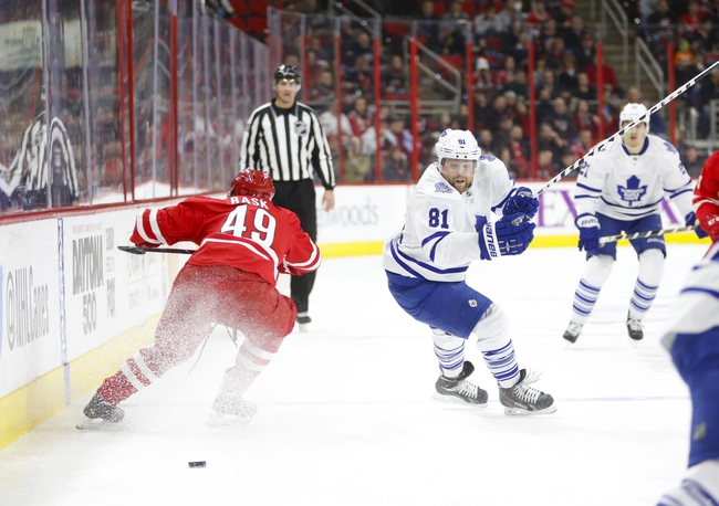 Carolina Hurricanes vs. Toronto Maple Leafs - 11/20/15 NHL Pick, Odds, and Prediction