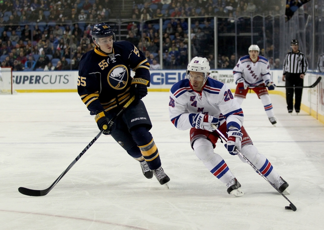 Sabres vs. Rangers - 3/14/15 NHL Pick, Odds, and Prediction