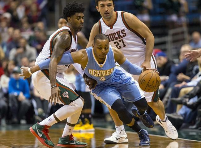 Nuggets vs. Bucks - 3/3/15 NBA Pick, Odds, and Prediction
