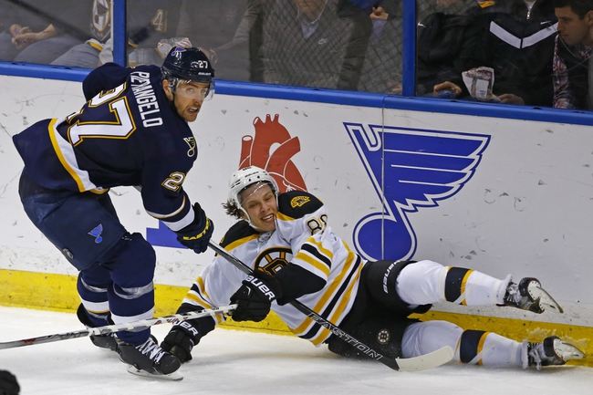 Boston Bruins vs. St. Louis Blues - 12/22/15 NHL Pick, Odds, and Prediction