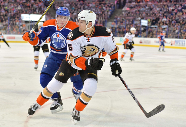 Anaheim Ducks vs. Edmonton Oilers - 4/1/15 NHL Pick, Odds, and Prediction