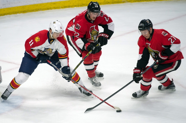 Senators vs. Panthers - 3/29/15 NHL Pick, Odds, and Prediction