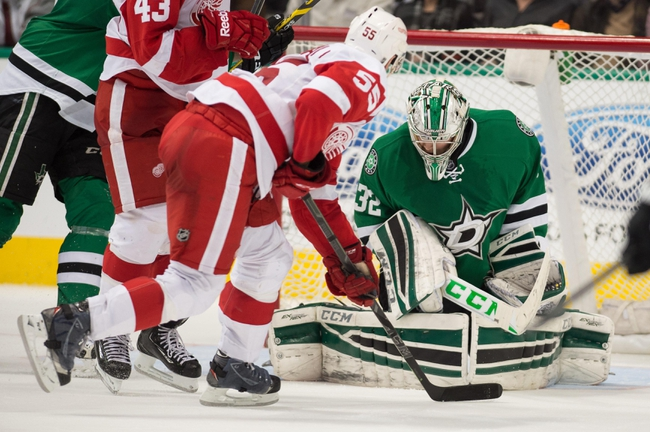 Detroit Red Wings vs. Dallas Stars - 11/8/15 NHL Pick, Odds, and Prediction