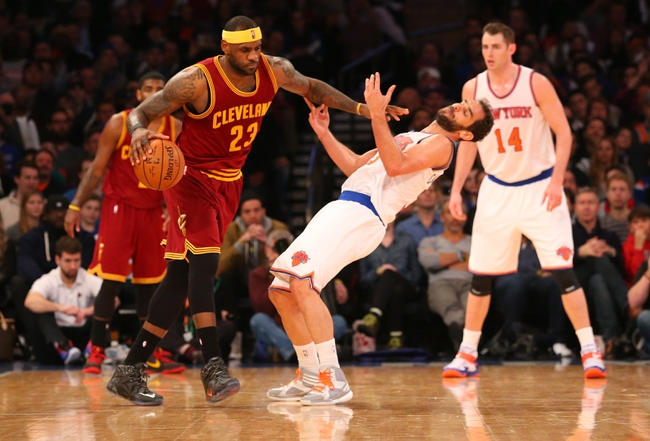 Knicks at Cavaliers - 11/4/15 NBA Pick, Odds, and Prediction