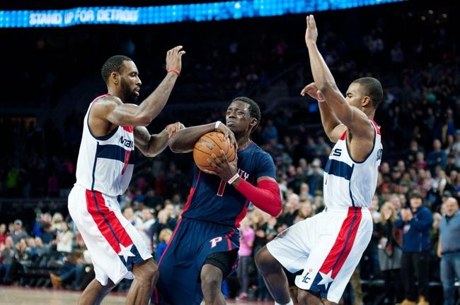 Washington Wizards vs. Detroit Pistons - 2/28/15 NBA Pick, Odds, and Prediction