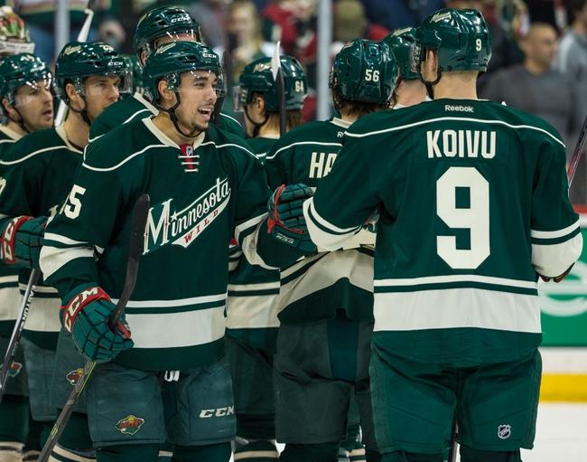 Minnesota Wild vs. Dallas Stars - 11/28/15 NHL Pick, Odds, and Prediction