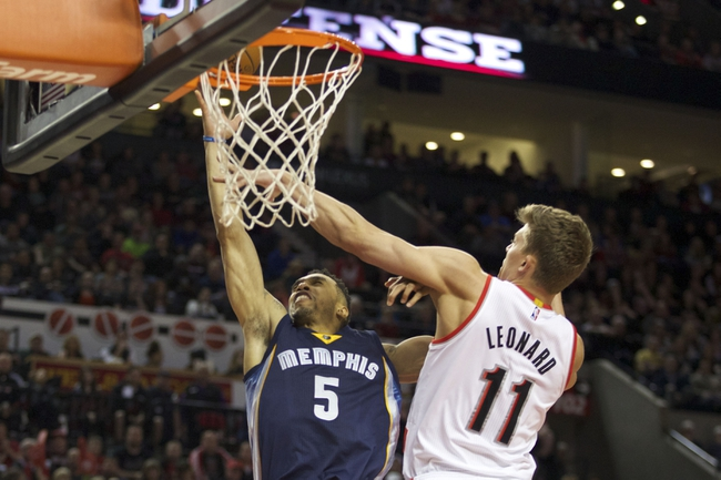 Grizzlies vs. Trail Blazers - 3/21/15 NBA Pick, Odds, and Prediction