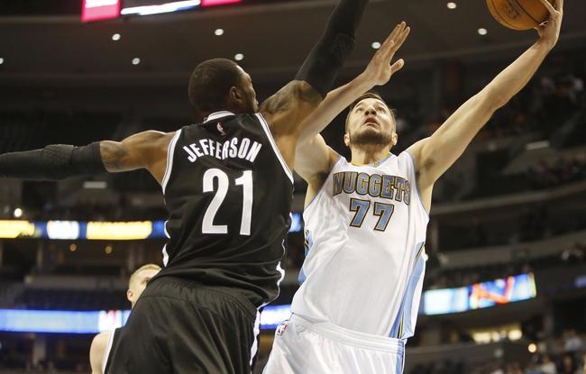 Denver Nuggets at Brooklyn Nets  - 2/8/16 NBA Pick, Odds, and Prediction