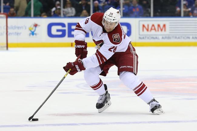 New York Islanders vs. Arizona Coyotes - 10/21/16 NHL Pick, Odds, and Prediction