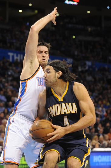Indiana Pacers vs. Oklahoma City Thunder - 4/12/15 NBA Pick, Odds, and Prediction