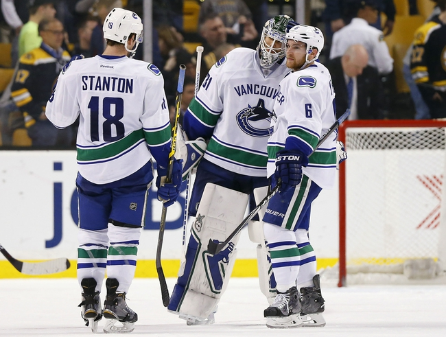 Vancouver Canucks vs. Boston Bruins - 12/5/15 NHL Pick, Odds, and Prediction