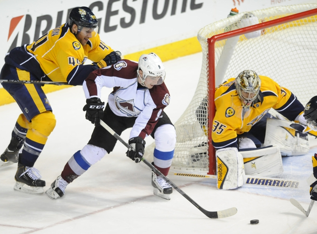 Avalanche vs. Predators - 4/7/15 NHL Pick, Odds, and Prediction