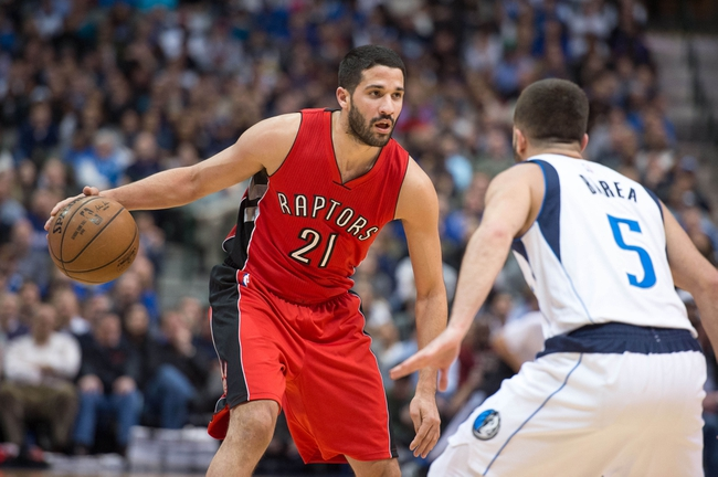 Raptors at Mavericks - 11/3/15 NBA Pick, Odds, and Prediction