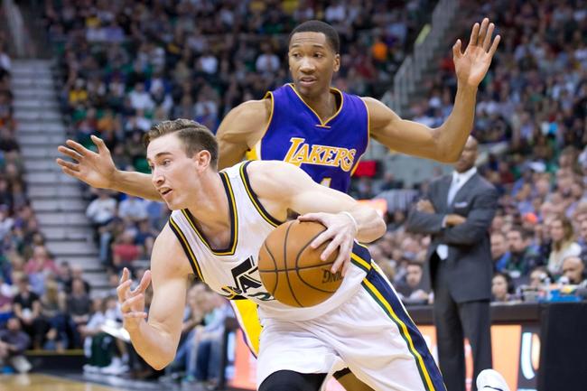 Los Angeles Lakers vs. Utah Jazz - 3/19/15 NBA Pick, Odds, and Prediction