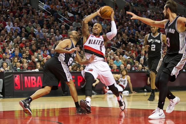 Portland Trail Blazers vs. San Antonio Spurs - 11/11/15 NBA Pick, Odds, and Prediction