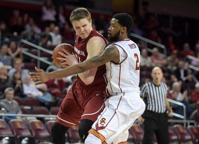 Washington State Cougars vs. USC Trojans - 1/1/16 College Basketball Pick, Odds, and Prediction