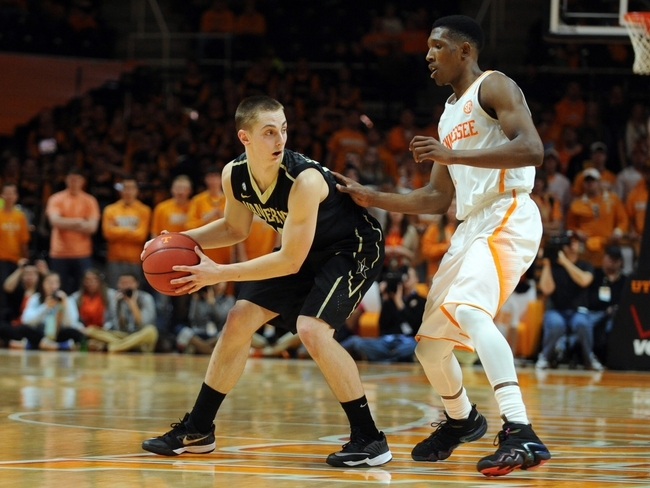 Vanderbilt vs. Tennessee SEC Tournament - 3/12/15 College Basketball Pick, Odds, and Prediction