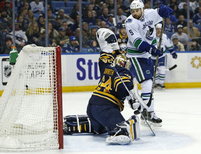 Buffalo Sabres vs. Vancouver Canucks - 11/7/15 NHL Pick, Odds, and Prediction