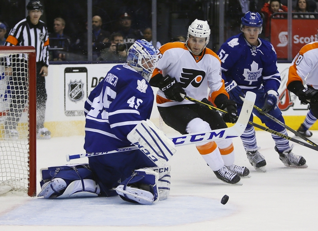 Philadelphia Flyers vs. Toronto Maple Leafs - 1/19/16 NHL Pick, Odds, and Prediction