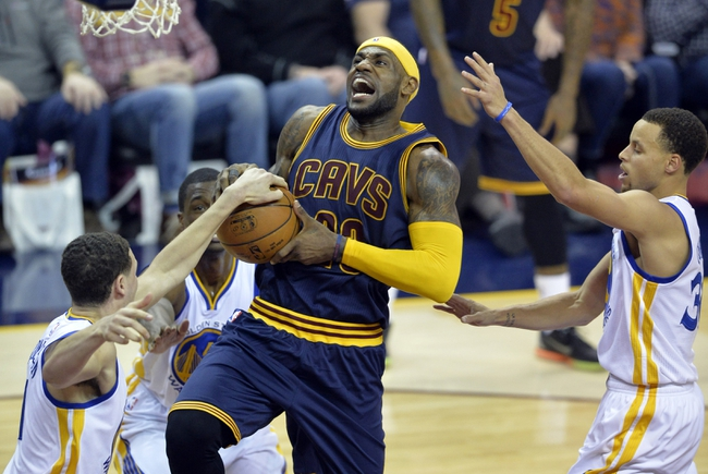 Cleveland Cavaliers at Golden State Warriors Game One - 6/4/15 NBA Pick, Odds, and Prediction