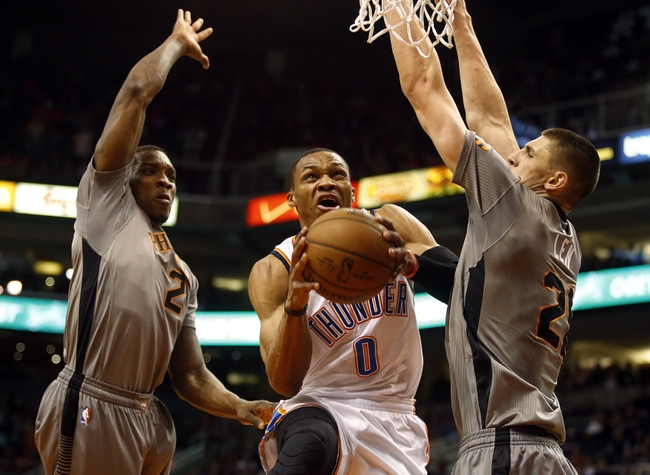 Suns vs. Thunder - 3/29/15 NBA Pick, Odds, and Prediction