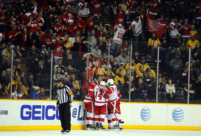Nashville Predators vs. Detroit Red Wings - 12/26/15 NHL Pick, Odds, and Prediction