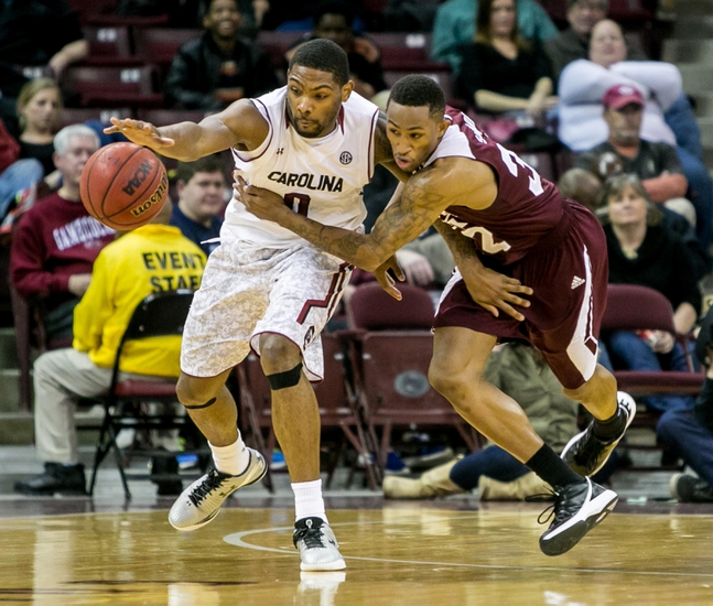 South Carolina Gamecocks vs. Mississippi State Bulldogs - 1/26/16 College Basketball Pick, Odds, and Prediction